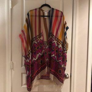 Anthropologie Kimono OS
